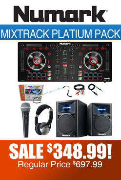 Numark mixtrack platinum pack