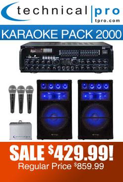 karaoke pack 2000