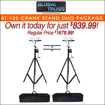 Global Truss ST-132 Crank Stand Duo Package