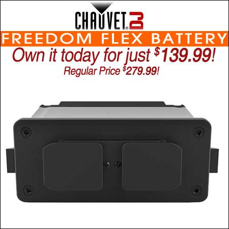 Chauvet DJ Freedom Flex Battery