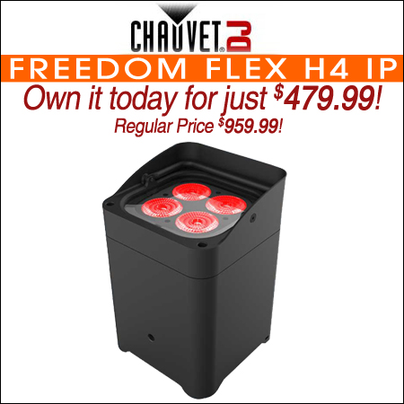 Chauvet DJ Freedom Flex H4 IP