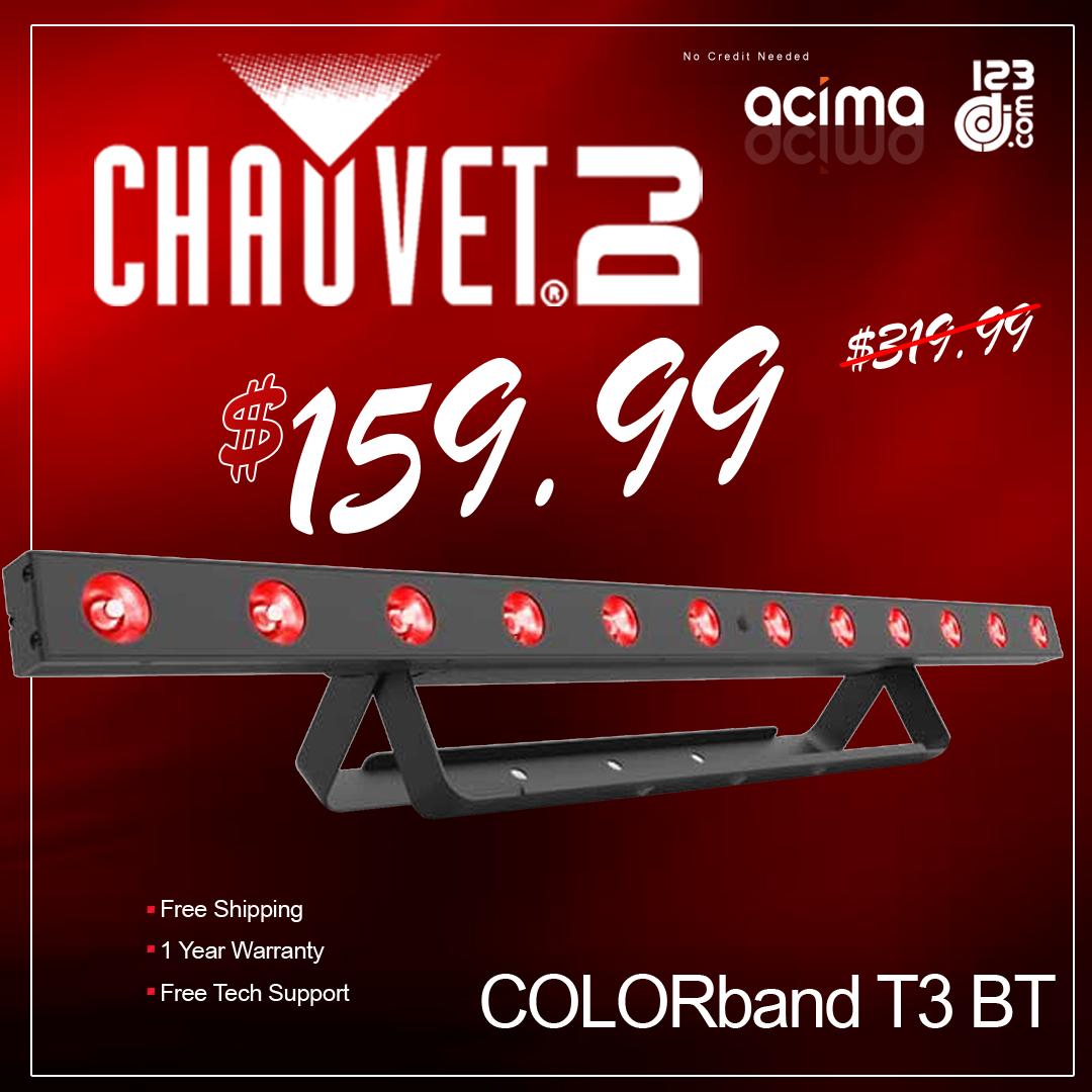 Chauvet COLORband T3 BT RGB LED Strip