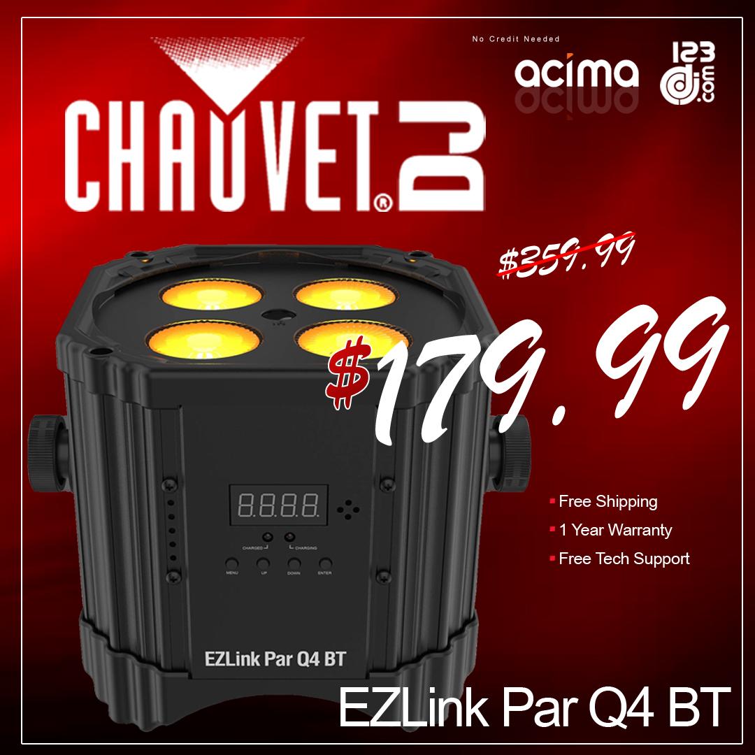 CHAUVET DJ EZLink Par Q4 BT