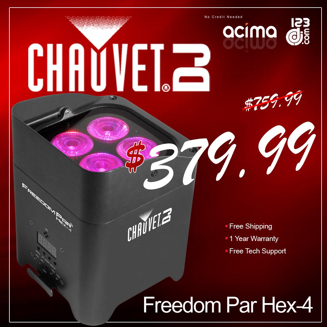 Chauvet Freedom Par Hex-4