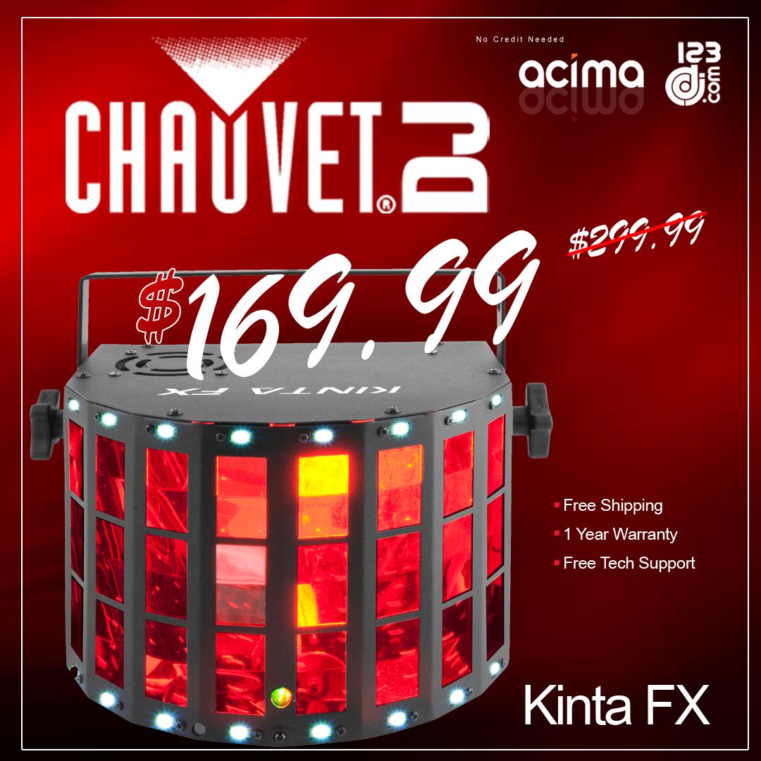 Chauvet DJ Kinta FX