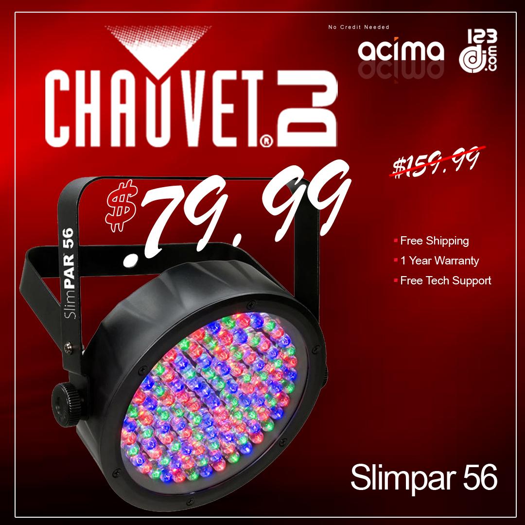 Chauvet DJ Slimpar 56